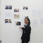 Astrea Pupil showing the exhibition