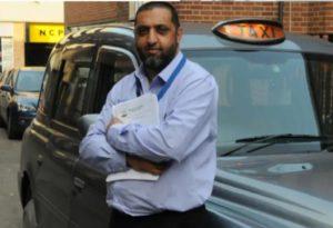 Ibrar Hussain taxi driver
