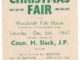 1947 poster for Christmas Fair