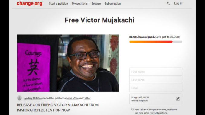 Free Victor Mujakachi - 28014 have signed