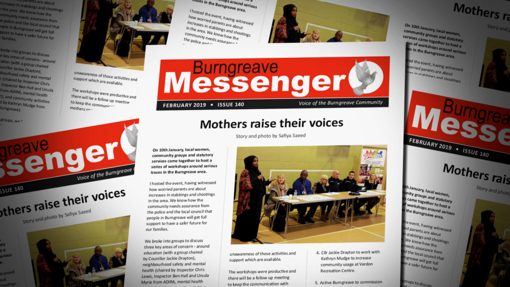 Burngreave Messenger February 2019 Isuue 140