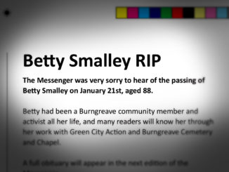 Betty Smalley RIP