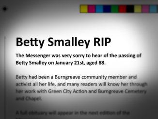 Betty Smalley RIP