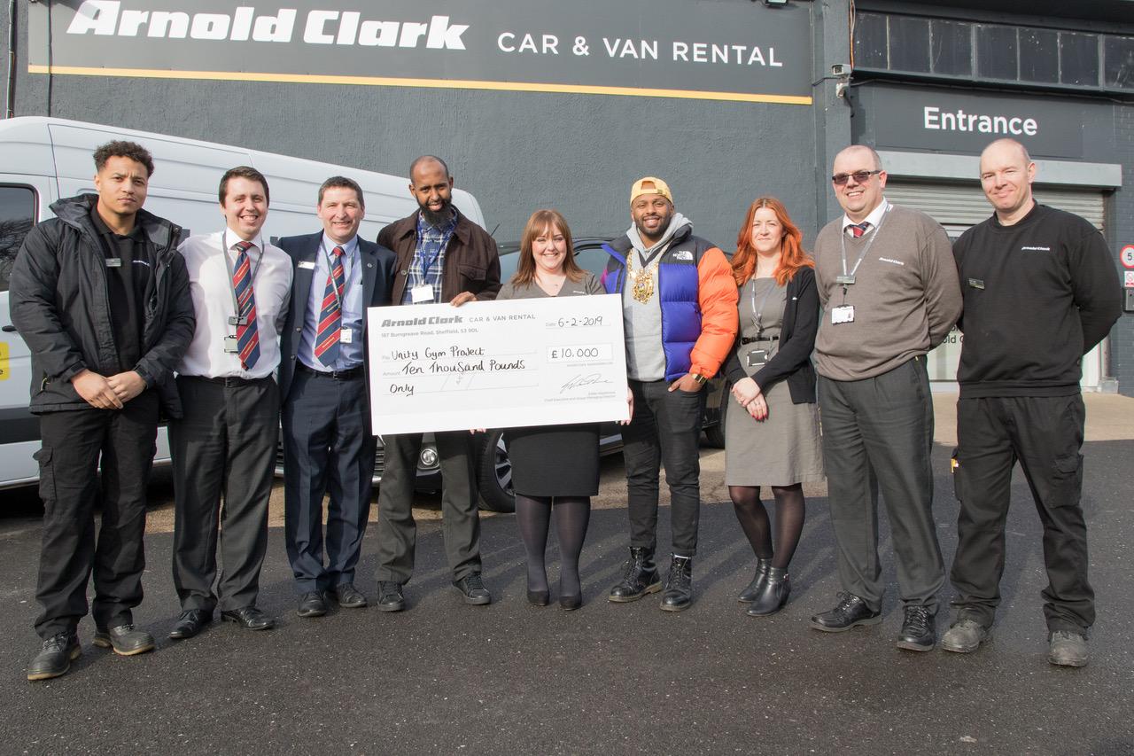 Arnold Clark donation