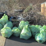 Earl Marshall Road litter picked and bagged.