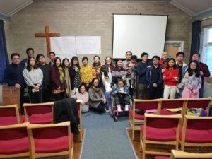 Filipino community at Rock Christian Centre