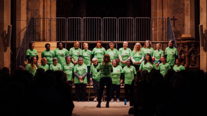 SAGE Choir Singing
