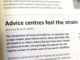 Advice centres feel the strain