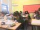 Arabic School pupils at their desks