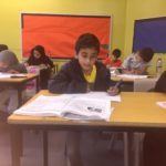 Boy at Arabic School