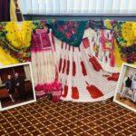 Display of fabrics
