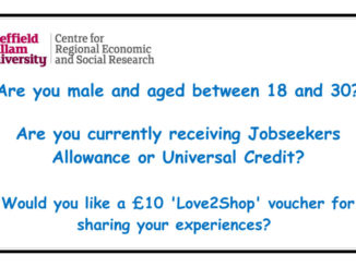 Young claimants survey