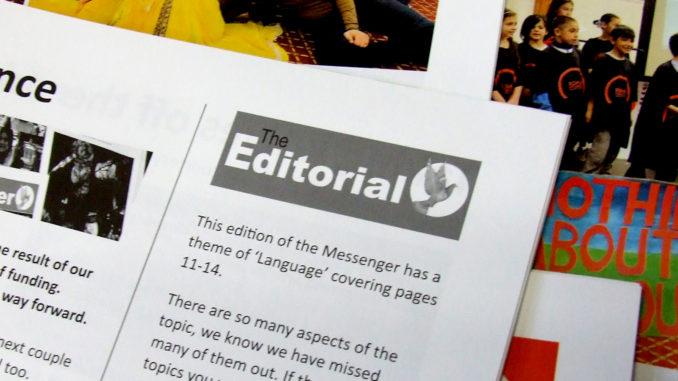 The Editorial April 2019