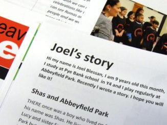 Joel's story.