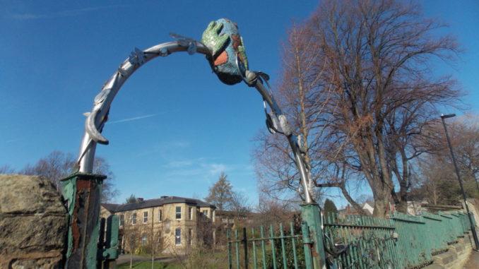 Abbeyfield Park Arch - Graham Jones