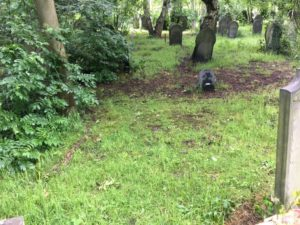 Jack Reynolds grave in Burngreave Cemetery