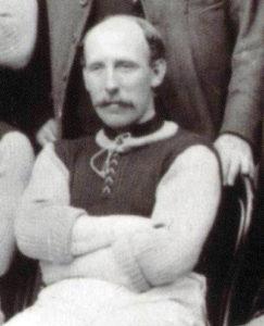 Jack Reynolds as seen in anAston Villa team photo taken by Albert Wilkes in 1897
