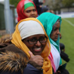 Spectators at Somaliland football match