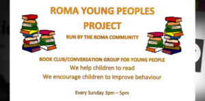 Roma young people's book club and conversation club @ Fir Vale Community Hub