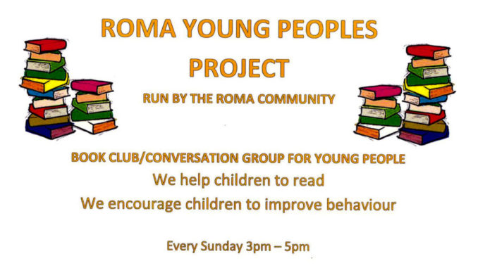 roma young people's conversation club and book club