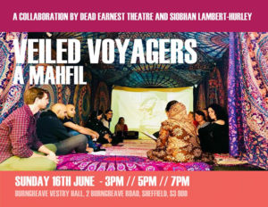 Veiled Voyagers - A Mahfil @ Burngreave Vestry Hall