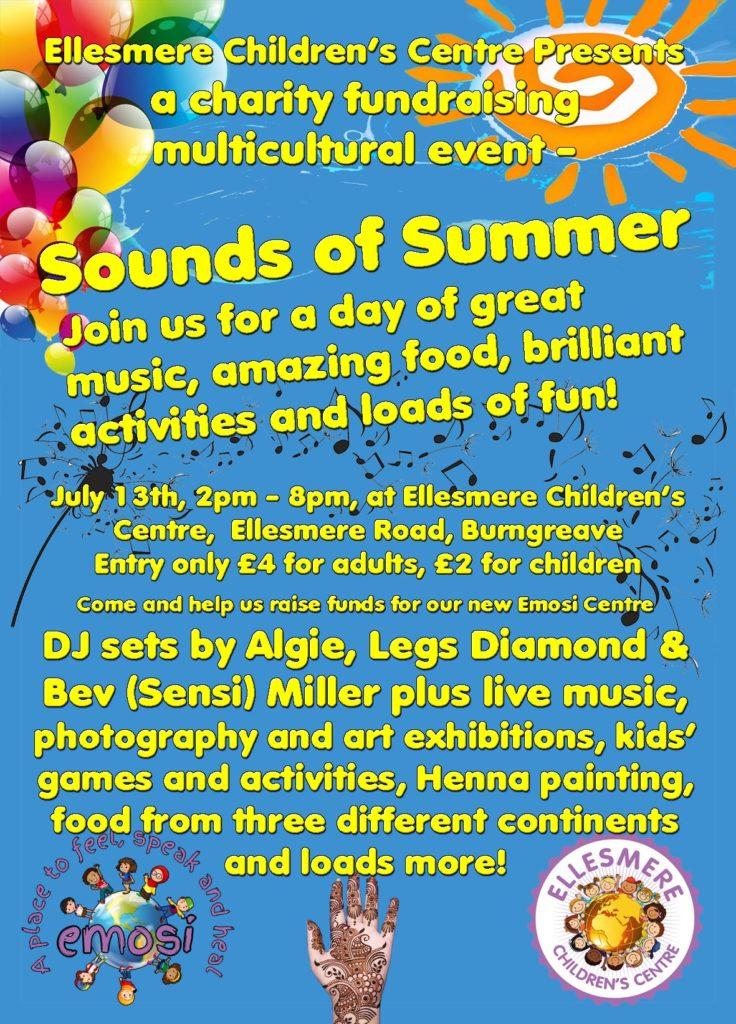Sounds of Summer flyer