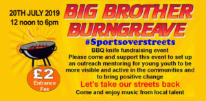 Big Brother Burngreave fundraising event @ Concord Sports Centre