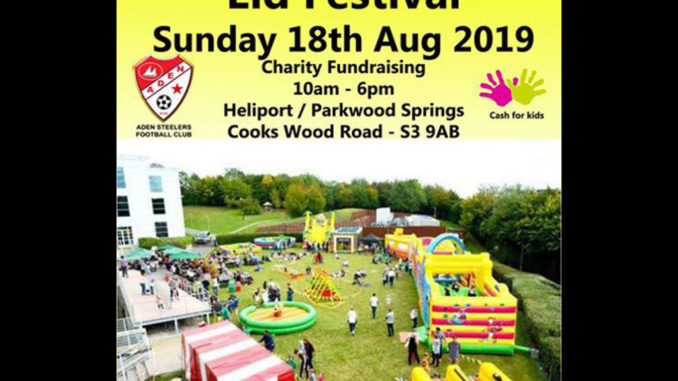 Eid festival Sunday 18th August 2019 featured