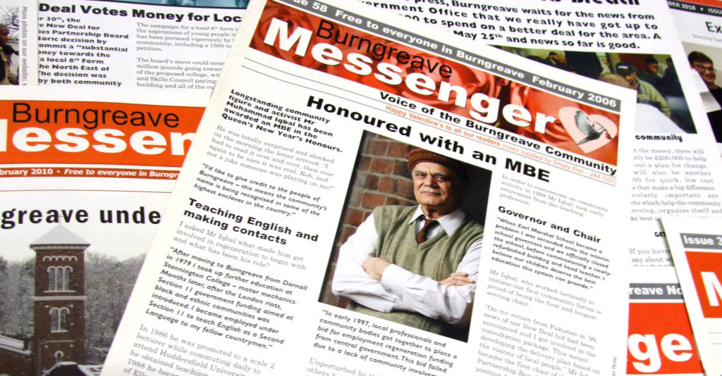 Issue 58 - Honoured with an mbe