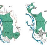 Parkwood Springs old maps 1637 and 1890