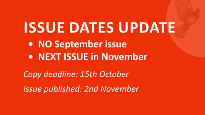 Issue dates update