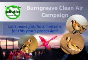 Make a goldfinch lantern with Burngreave Clean Air Campaign @ Abbeyfield Park House and Christ Church, Pitsmoor Road