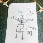 Bird lantern designs at St Catherine's Scouts.
