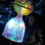 A smashing martian lantern. Photo by Jackie Jones.