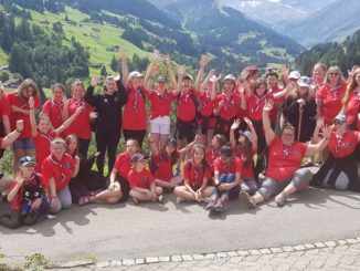 Guides and Brownies in Switzerland