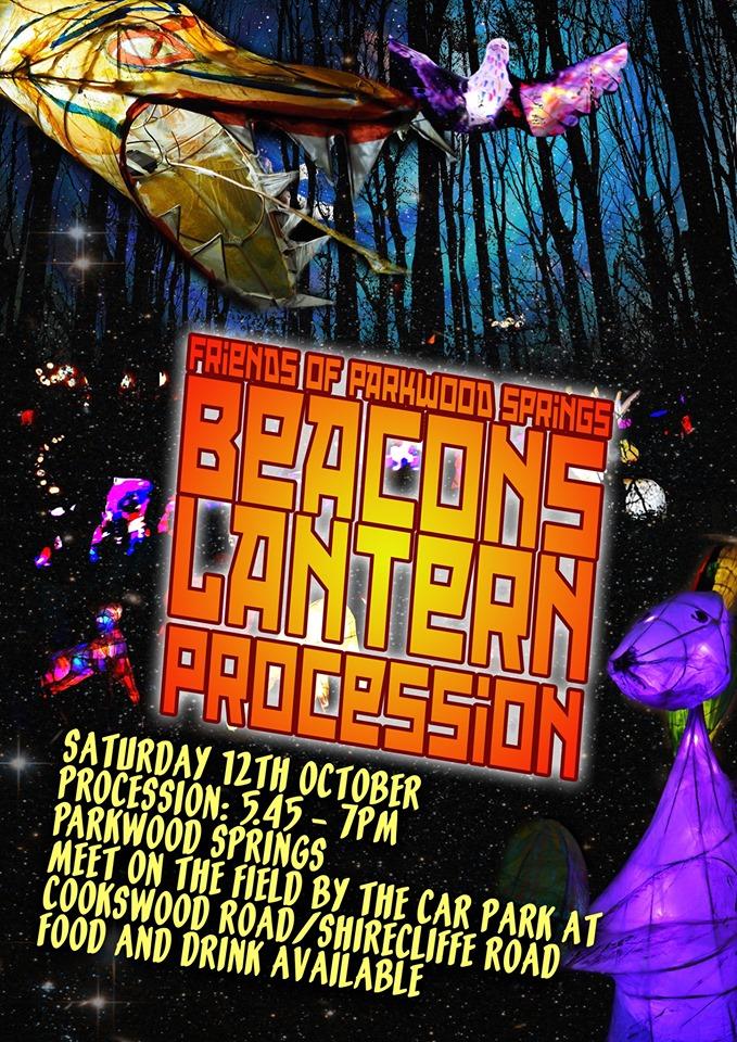 Lantern Procession flyer 2019