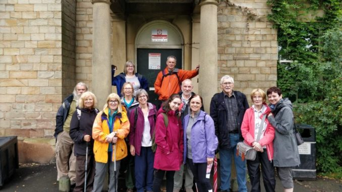 Walkers at Abbeyfield Park House