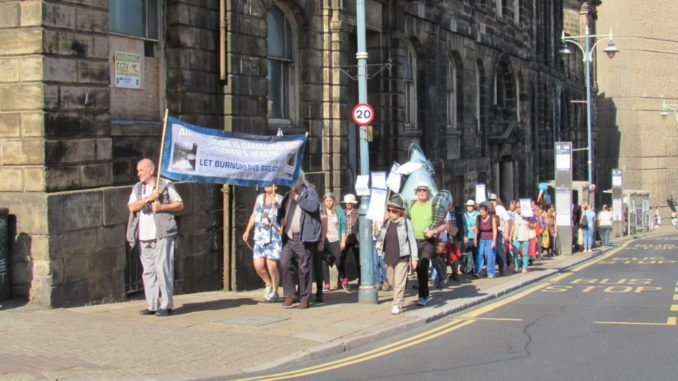 Burngreave climate strike march