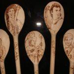 Stuart Faulkner's engraved spoons