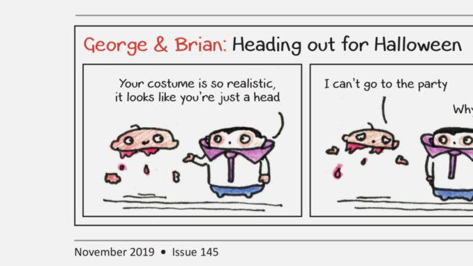 George and Brian November 2019