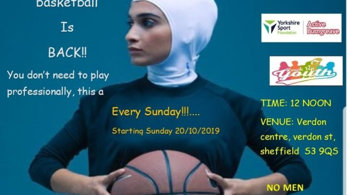 Sisterhood basketball at Verdon Rec.