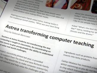 Astrea transforming computer teaching