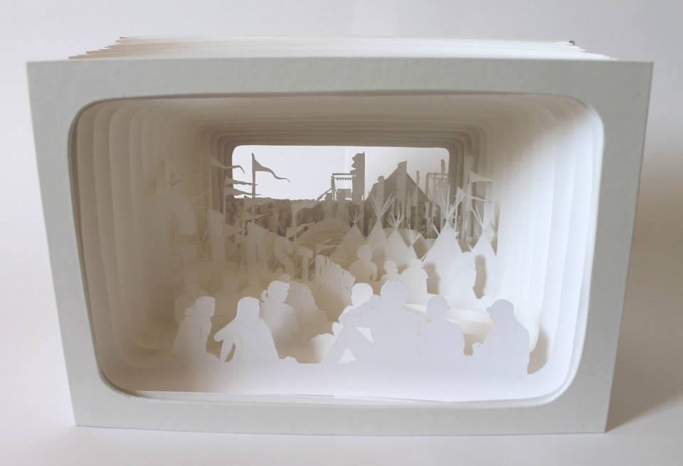 Kim Bevan paper craft 1