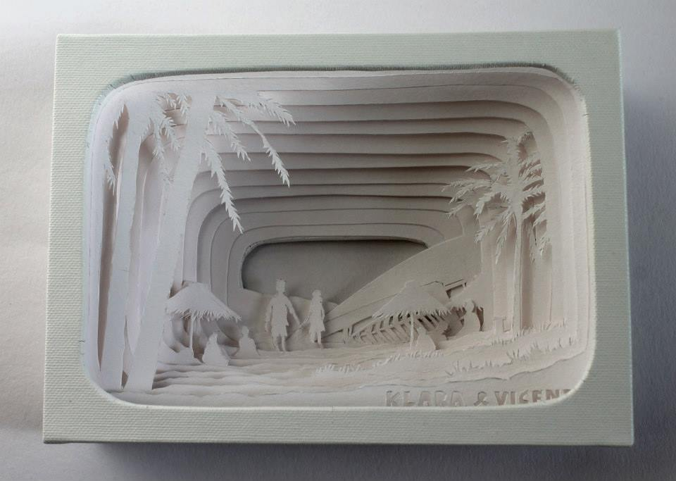 Kim Bevan paper craft 2