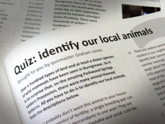 Quiz - identify our local animals
