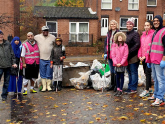 Ellesmere litter pick team