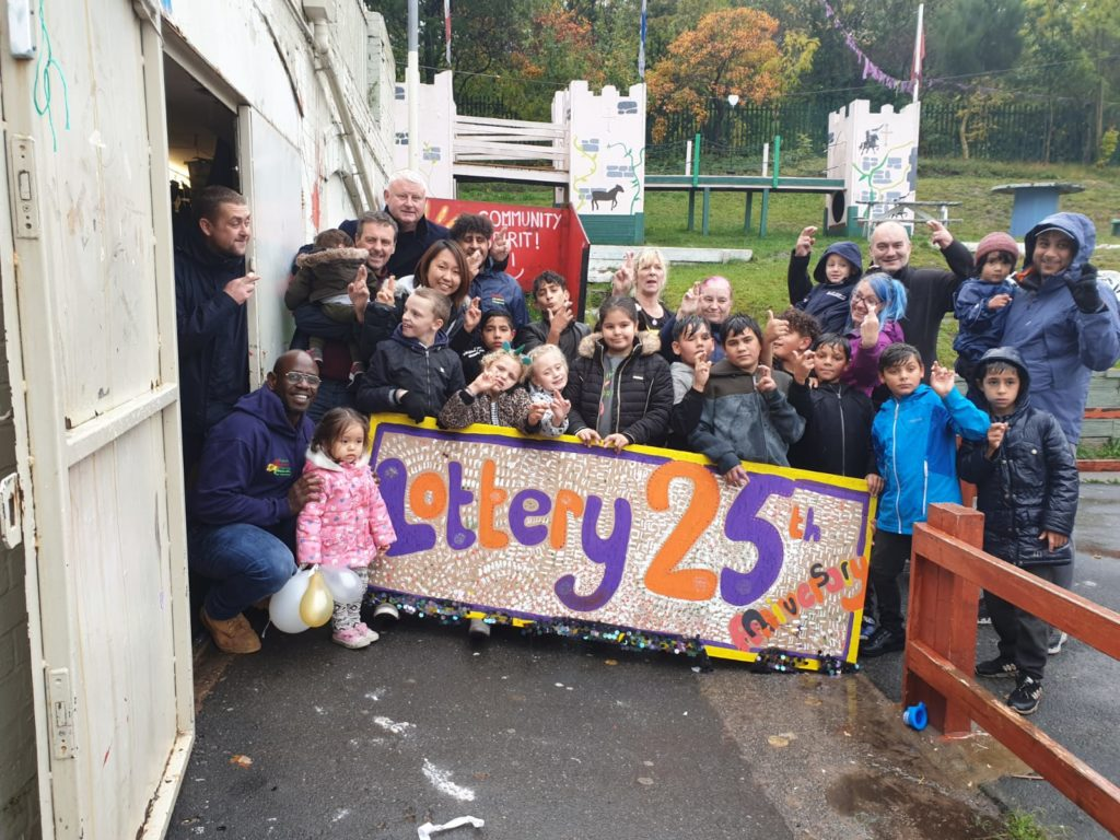 Pitsmoor Adventure Playground Lottery 25th Anniversary Picture