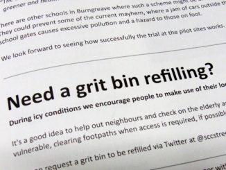 Need a grit bin refilling?