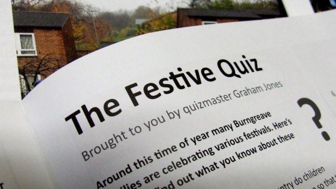 The festive quiz December 2019