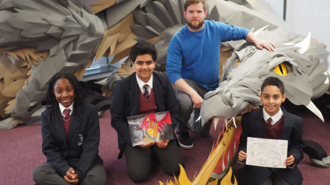 Burngreave Academy dragon invision